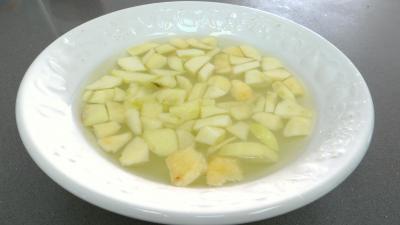 Tarte aux pommes et aux amandes - 2.3