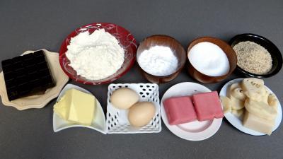 Ingrédients pour la recette : Palets à la pâte d'amande