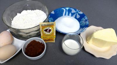 Ingrédients pour la recette : Damiers