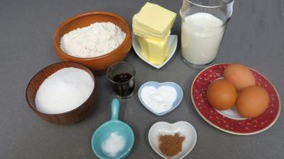 Ingrédients pour la recette : Cake à la crème de riz du Libéria
