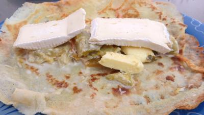 Cassolettes de crêpes fourrées au camembert - 6.2