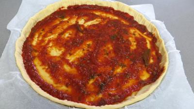 Pizza au chapon et poireaux - 7.2
