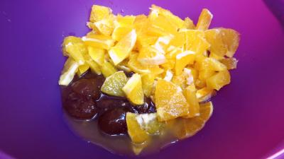Fruits en salade au mascarpone - 1.4