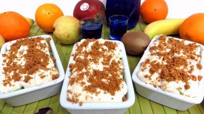 Recette Cassolettes de fruits en salade au mascarpone