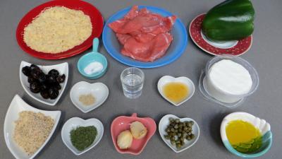 Ingrédients pour la recette : Paupiettes de veau en brochettes