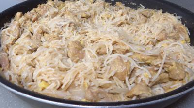Recette Agneau au vermicelle de riz