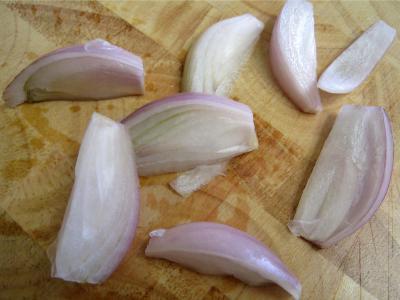 Salade de mâche aux foies de volaille et aux pommes - 3.4