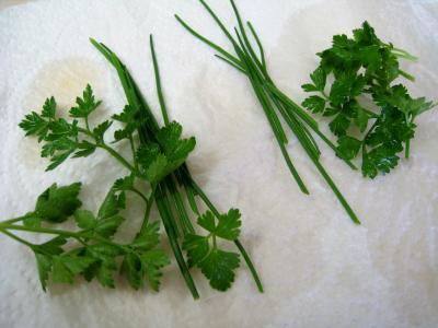 Salade de mâche aux foies de volaille et aux pommes - 3.2