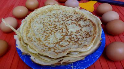 Crêpes à la semi-farine complète - 4.3