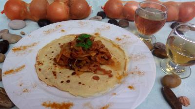 Fromages : Crêpes et ses fenouils à l'Orientale