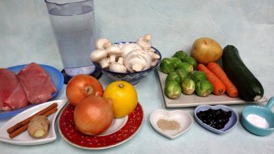 Ingrédients pour la recette : Soupe au citron