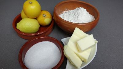Ingrédients pour la recette : Sablés au citron