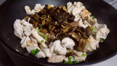 Blancs de dinde aux cèpes - 3.4