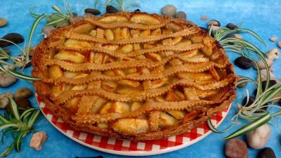 Cuisine suisse : Part de tarte aux pommes