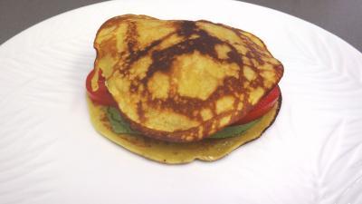 Pancakes façon hamburger - 6.3