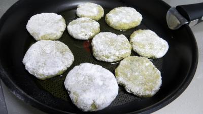 Galettes de poireau au riz - 7.2