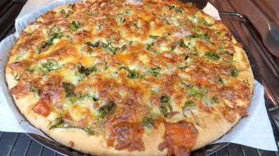 Pizza aux broutes - 6.1