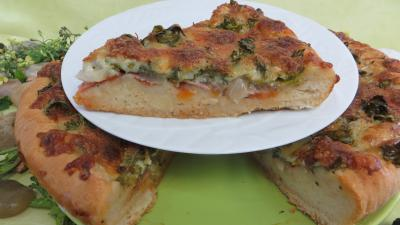 Recette Pizza aux broutes