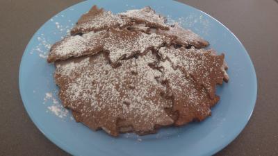 Sapins aux amandes et cacao (sablés) - 5.2