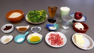 Ingrédients pour la recette : Risotto aux broutes