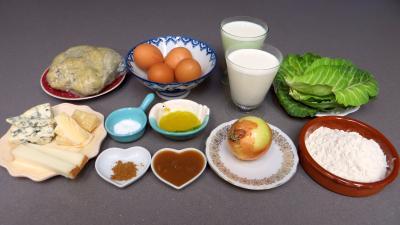 Ingrédients pour la recette : Barquettes et tartelettes au chou