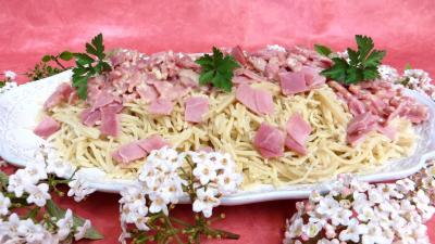Recettes rapides : Spaghettis à la carbonara