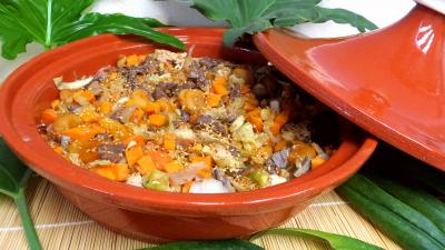 Image : recette Tajine de kangourou