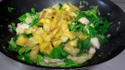 Sauté de dinde à l'ananas - 6.2