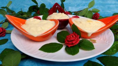 Dessert glacé : Crème glacée à la noix de coco