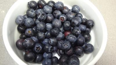 Mascarpone aux fraises et aux myrtilles - 1.4