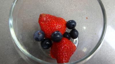 Mascarpone aux fraises et aux myrtilles - 6.1