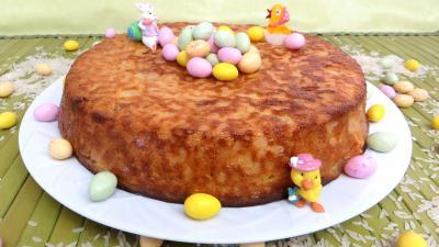 Gâteau de riz aux poires - 8.2