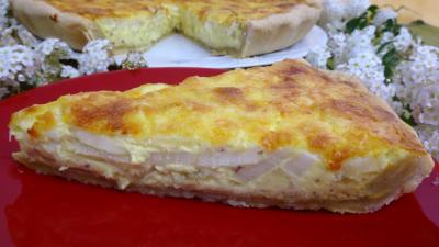 Recette Tarte aux asperges au fromage frais de chèvre