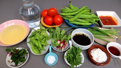 Ingrédients pour la recette : Taboulé