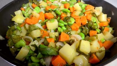 Fèves et légumes à l'oseille - 5.3