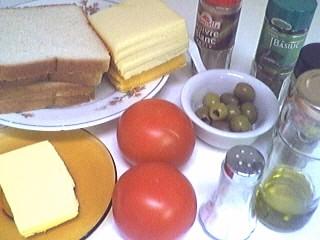 Ingrédients pour la recette : Tartines à l'italienne