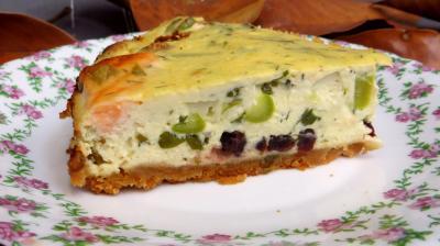 Recette Cheesecake au saumon