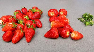 Cake aux fraises - 1.1
