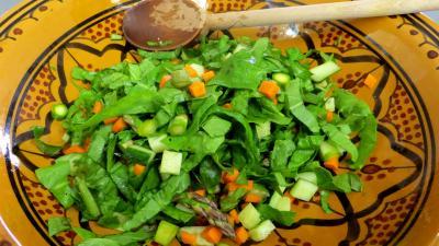 Salade aux blancs de poulet - 6.4