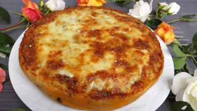 gratin de légumes : Assiette de kouign patatez revisité