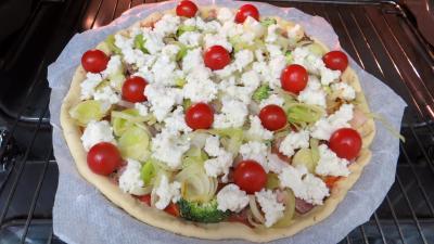 Pizza aux restes de charcuterie - 6.2