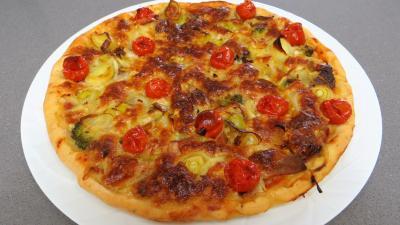 Pizza aux restes de charcuterie - 7.2