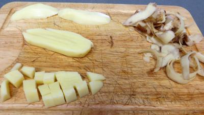 Blanquette de cerf aux nèfles - 2.4