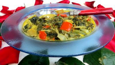 Légumes : Compotée de blettes