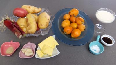 Ingrédients pour la recette : Purée de nèfles du Japon
