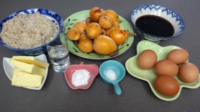 Ingrédients pour la recette : Muffins aux nèfles sans gluten