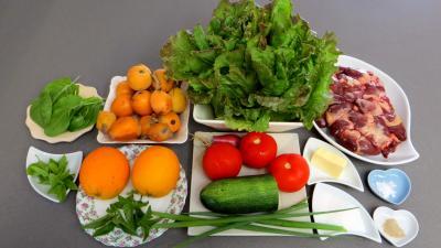 Ingrédients pour la recette : Salade de nèfles