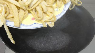Tagliatelles fraîches aux blettes - 8.3