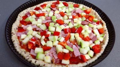 Pizza aux courgettes - 4.4