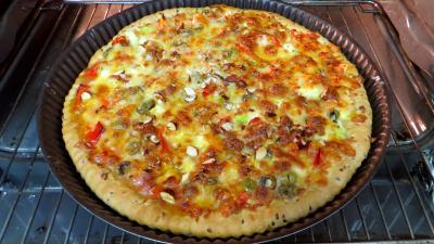 Pizza aux courgettes - 5.4